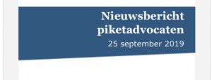 Oproep verhinderdata piket gaat viral; NOvA, NVSA en NVJSA roepen op tot piketstaking