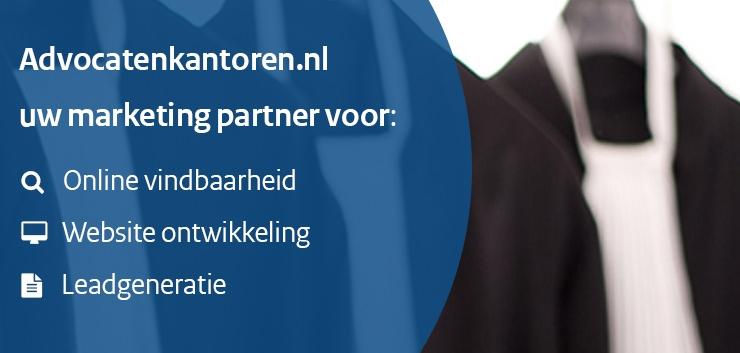 Ontvang nieuwe zaken voor uw advocatenkantoor via Advocatenkantoren.nl